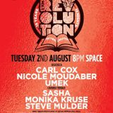 Carl Cox @ Music is Revolution Week 8, Space Ibiza - 02 August 2016 - Part 2