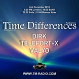 VALYO - Guest Mix - Time Differences 342 (2nd December 2018) on TM Radio