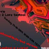 Dj Arvie Got 2 love Techno mix CuebaseFM.de red stream 19-10-2014