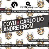 Coyu  - Live At Suara Kitties Wanna Dance Official Pre-Party, Hotel Santos (Ibiza) - 04-Jun-2014