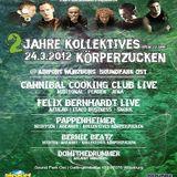 Cannibal Cooking Club (Live PA) @ 2Jahre Kollektives Körperzucken -Soundpark Ost Würzburg-24.03.2012