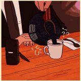 wait a minute (damn fine coffee)
