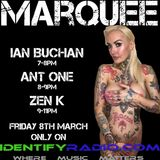 Special Guest Ian Buchan Marquee on Identify Radio