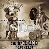 Jester's Dance - RadioShow @ Radiozografou.gr - 05-10-2013 , With Guests INSIDEAD
