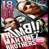 The Martinez Brothers @ Gloss Club (at Divina), Milano - 18.04.2009