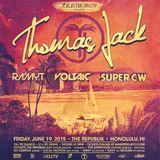 Ramyt - Floating Above The Palm Trees - Promo Mix for Thomas Jack (06-19-15) @ The Republik Honolulu