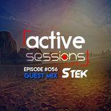 Active Sessions Live #056 Guest Mix Stek