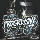 DJ GeneriS - Progressive House & EDM (January 2015 - Part 2)