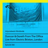 Anjunabeats Worldwide 566 with Duncan & Gareth From The Office (Live at Electric Brixton, London)