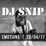 Snip - Emotions (26-04-2017)W/. Angelo Ferreri - CamelPhat - Groove Armada - Kerri Chandler - ....