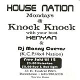 Manny Cuevas & Kenyan - House Nation Monday's @ Knock Knock, Closing Night - August,98' (REMASTERED)
