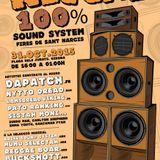Reggae 100% Sound System (1st part) feat. ARISE, MUMU 334, BUCKSHOTT CREW 31/10/2015 @ Girona