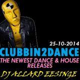 Allard Eesinge - Clubbin2Dance (25-10-2014)