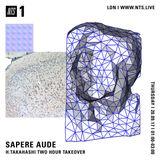 Sapere Aude w/ H. Takahashi - 21st September 2017
