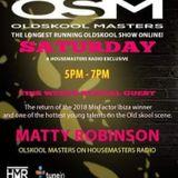 DJ Matty Robbo OSM Radio Oldskool Mix