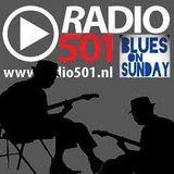 2019-01-13 - Radio501 Blues on Sunday - Rogier van Diesfeldt