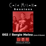 Cafe Milano Sessions // 002 // Sergio Helou