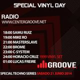 SPECIAL VINYL DAY - Podcast Lucas Freire Part2 Live on CenterGroove Radio.