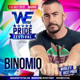 WE PARTY #WePrideFestival 2015 · BINOMIO