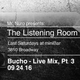 (80's & Retro) Live @ The Listening Room, Pt. 3 (09.24.16)