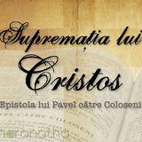 9. Plăcerea Tatălui, Coloseni 1.19-23, Part.1