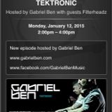 Gabriel Ben Presents - Tektronic 069 (January 2015) with guest Filterheadz