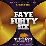 Faye Forty Six - Beatminerz Radio (New Year's Day 1-1-19 Edition)