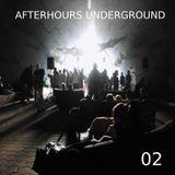 AFTERHOURS UNDERGROUND 02 Mixed by Buddhafish