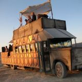 Live on the Janky Barge at Burning Man 2013