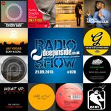 DEEPINSIDE RADIO SHOW 078 (Jay Vegas Artist of the week)