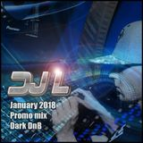 DJ L - January 2018 Promo Mix - Dark DnB