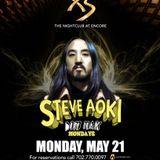 Steve Aoki - Live @ XS NightClub, Dim Mak Mondays (Las Vegas) - 21.05.2012