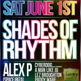 DJ CYBERDOG - SHADES OF RHYTHM WARM UP SET - 89 -90 @ SILK ROAD - 1-6-13