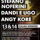 TiefenRausch @ Italien weekend 14.01.2012 (intro set for Dandi e Ugo) 1-2 Uhr