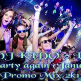 Let`s Party Again ( January Promo Mix 2k13 )