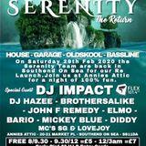 Serenity Promo mix - UK GARAGE