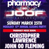 John 00 Fleming B2B Christopher Lawrence – Live @ Pharmacy & JOOF Editions at WMC 2012