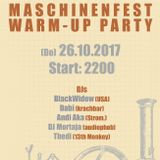 Andi Aka @Maschinenfest 2k17 warm-up party in Oberhausen, Turbinenhalle-Cosmo Club
