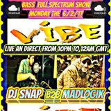 Guest Show for DjSnap on Vibe FM