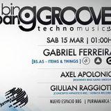 Giulian Raggiotti @ Bing Bang Groove 15.03.14