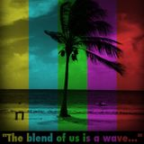 The blend of us is a wave...
