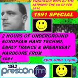 Energised With DJ Tim - 8/2/14/ - 103.2 Preston fm