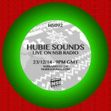 Hubie Sounds 092 - 23rd Dec 2014