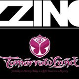 Zzino Accelerator classic techno podcast #11 live @ Tomorrowland age of love 2015