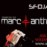 Marc Anthony Tribute Show  ( SFDJA)