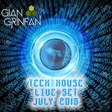 Tech House Live Set July 2016