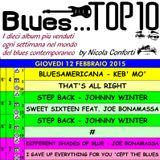 BLUES TOP 10 - Giovedi 12 Febbraio 2015 (cluster 4)