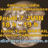 Emission du Jeudi 7 mai 2018, invité : Yann MARTAIL