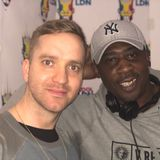Bryan gee on kool london Broadcasting  live from the White Qube 15-03-2018