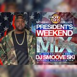 dj smoove ski live on hot 97 president mix weekend 2/16/19